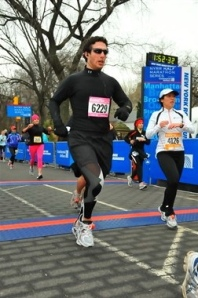 """""""The Cold Ass Half, 2009"""" I wasn't tired at the finish line - I was frozen."""