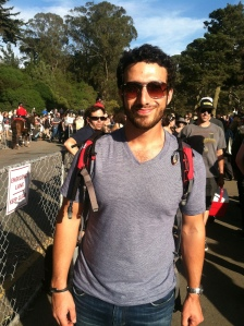 Making an appearance at Hardly Strictly.