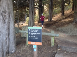 Finishing the SCA Trail.