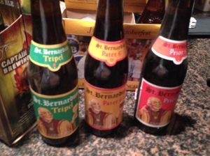 Friday night St. Bernardus Tasting Menu