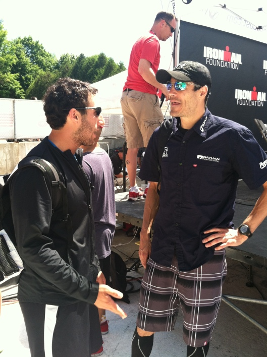 Talking DOs and DON'T with Andy Potts - Ironman Lake Placid 2012 Champion