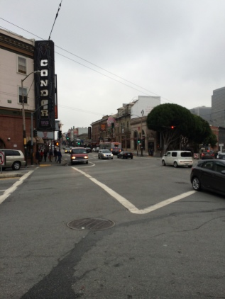 The intersection of Chinatown and the debauchery of Broadway Street