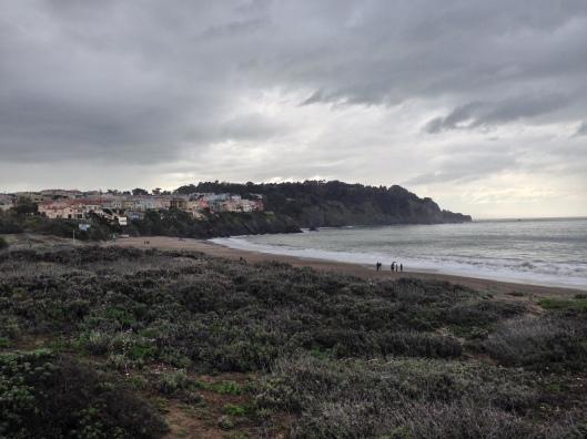 Schizo Baker Beach - the cloudy half