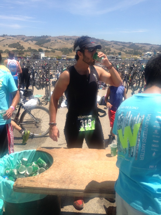 Ready to put Wildflower Long Course behind me and shave an hour off my finish time.