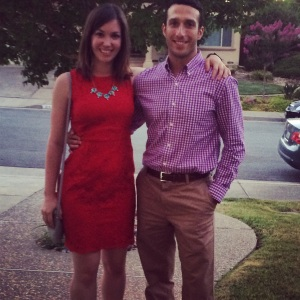 Jesse and I at my mom's party.
