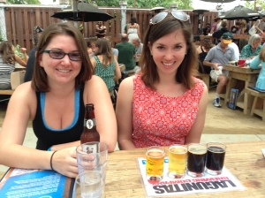 My sister Rylee and I last weekend at Lagunitas Brewery in Petaluma