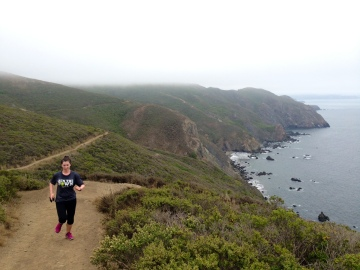 Hoofing it to the top of Tennessee Valley.