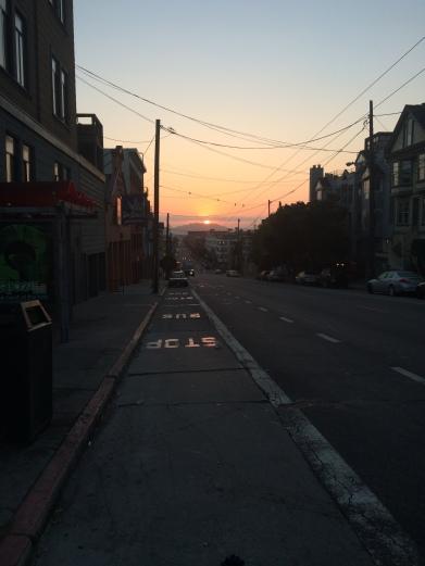 Gorgeous sunrise yesterday morning.