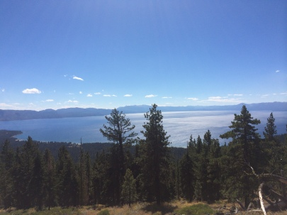 Hopefully Skyline to the Sea's views are half as epic as this shot from the Tahoe Rim Trail.