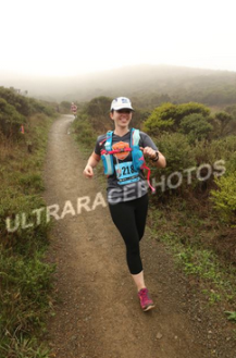 All smiles during the North Face Endurance Challenge 50K.
