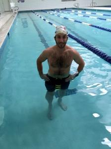 Roughly 4000m into my 10k swim.