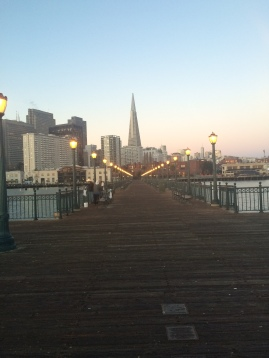 Beautiful view of the Transamerica Pyramid.