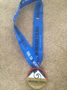 Good-looking medal.
