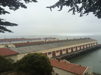 Made it to the top of Fort Mason!